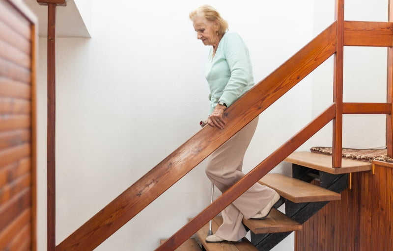 WHY DO I STRUGGLE TO WALK DOWN STAIRS_ _ HALTON STAIRLIFTS