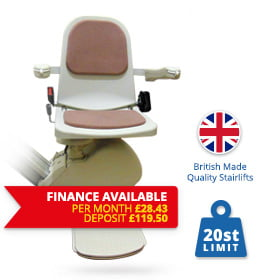 Halton Stairlifts | Reconditioned-acorn-budget-finance