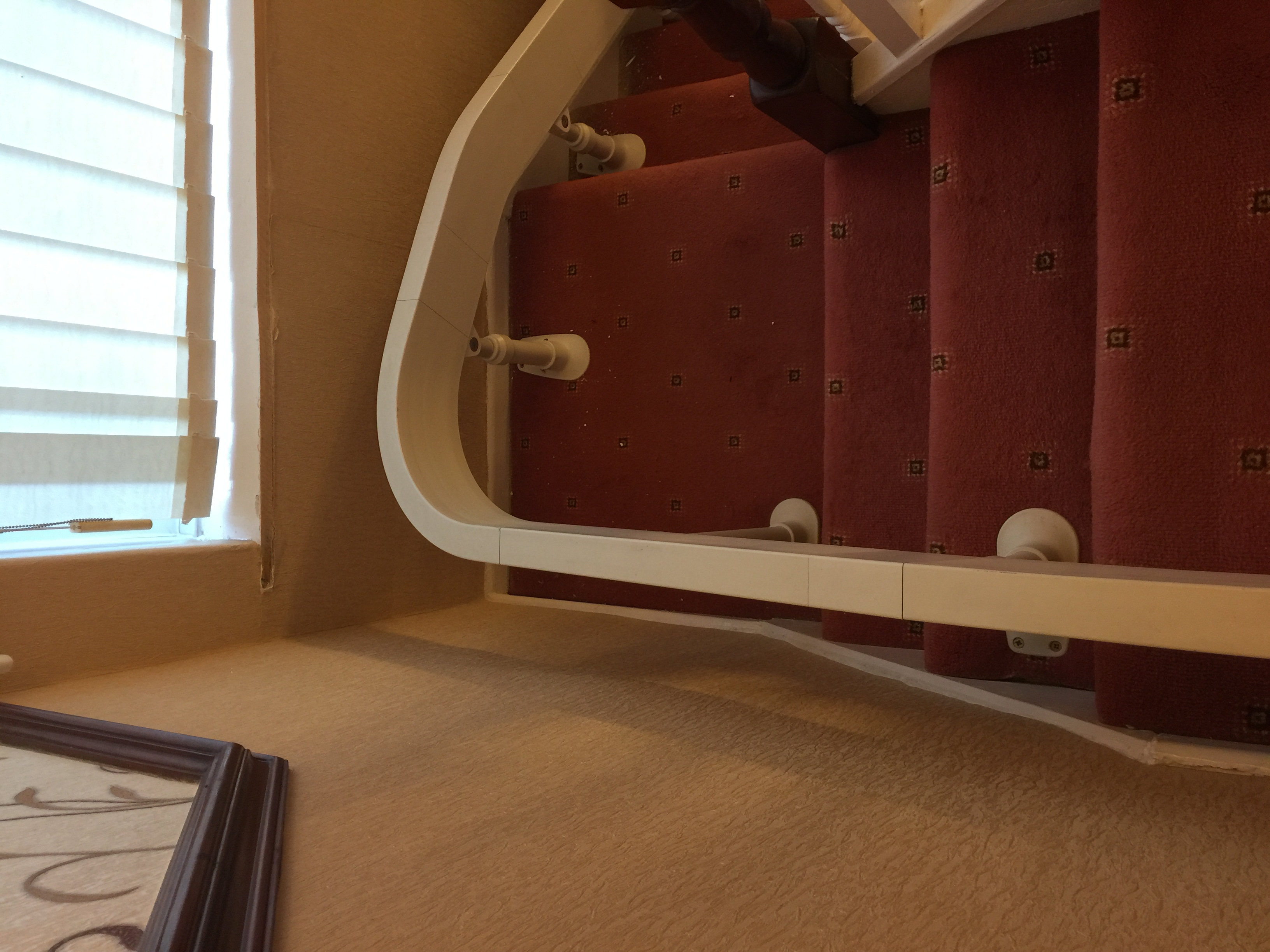 Brooks Curved Stairlift For Curved Chairlift Tracking