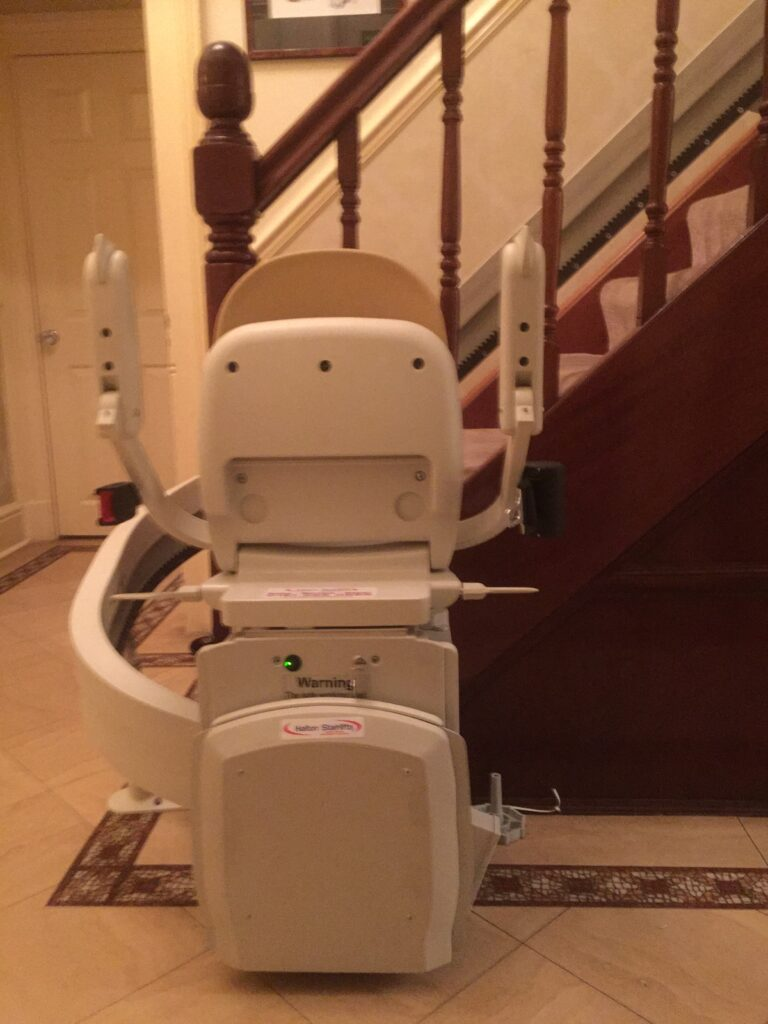 Brooks Curved Stairlifts 04