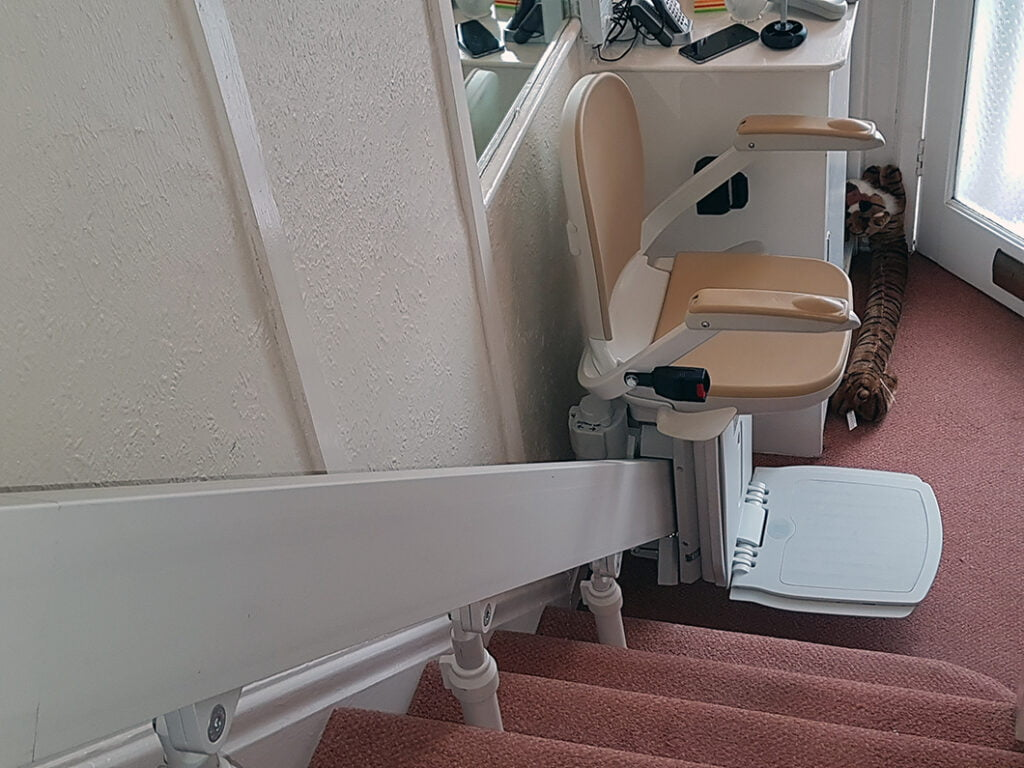 Brooks T565 Curved Stairlift