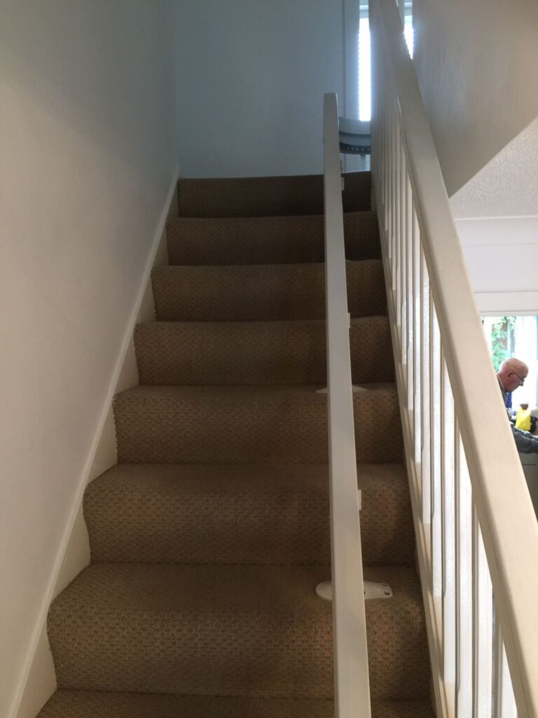 Brooks T565 Curved Stairlift Modular Track