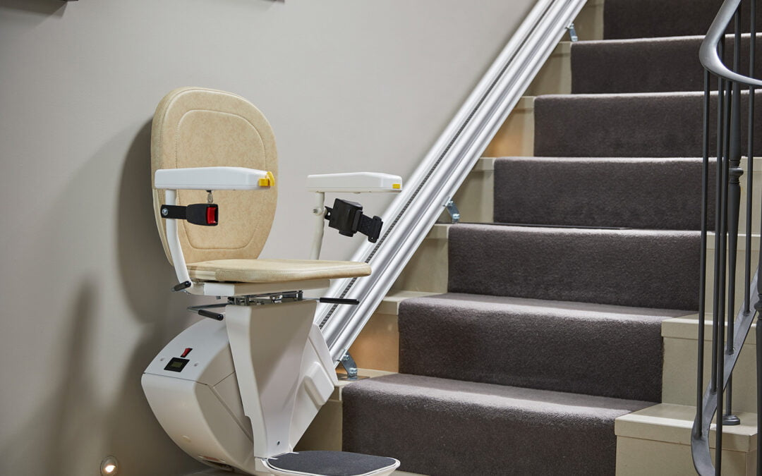 HINGED RAIL STAIRLIFTS