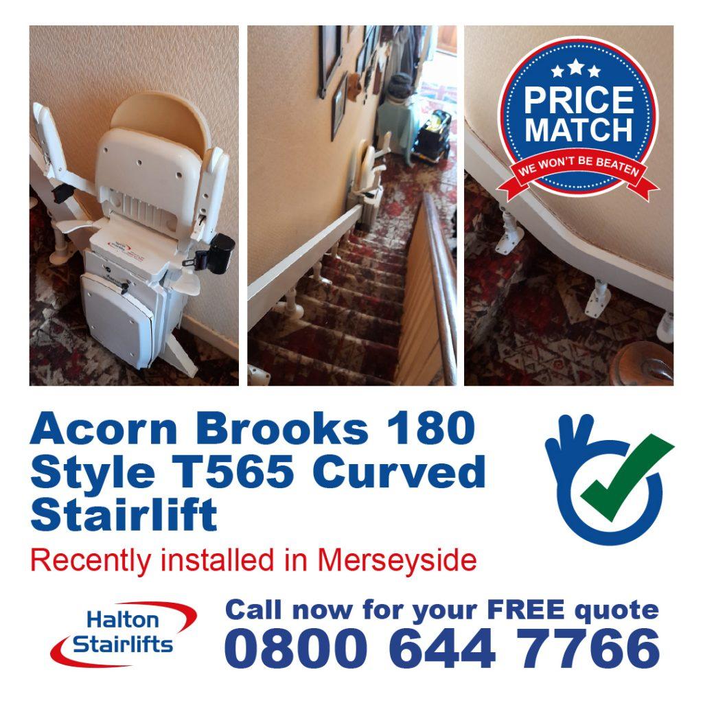 Acorn Brooks 180 Style Curved Merseyside
