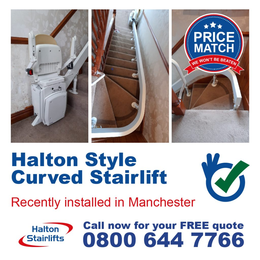 HS Style Curved Stairlift Manchester v2