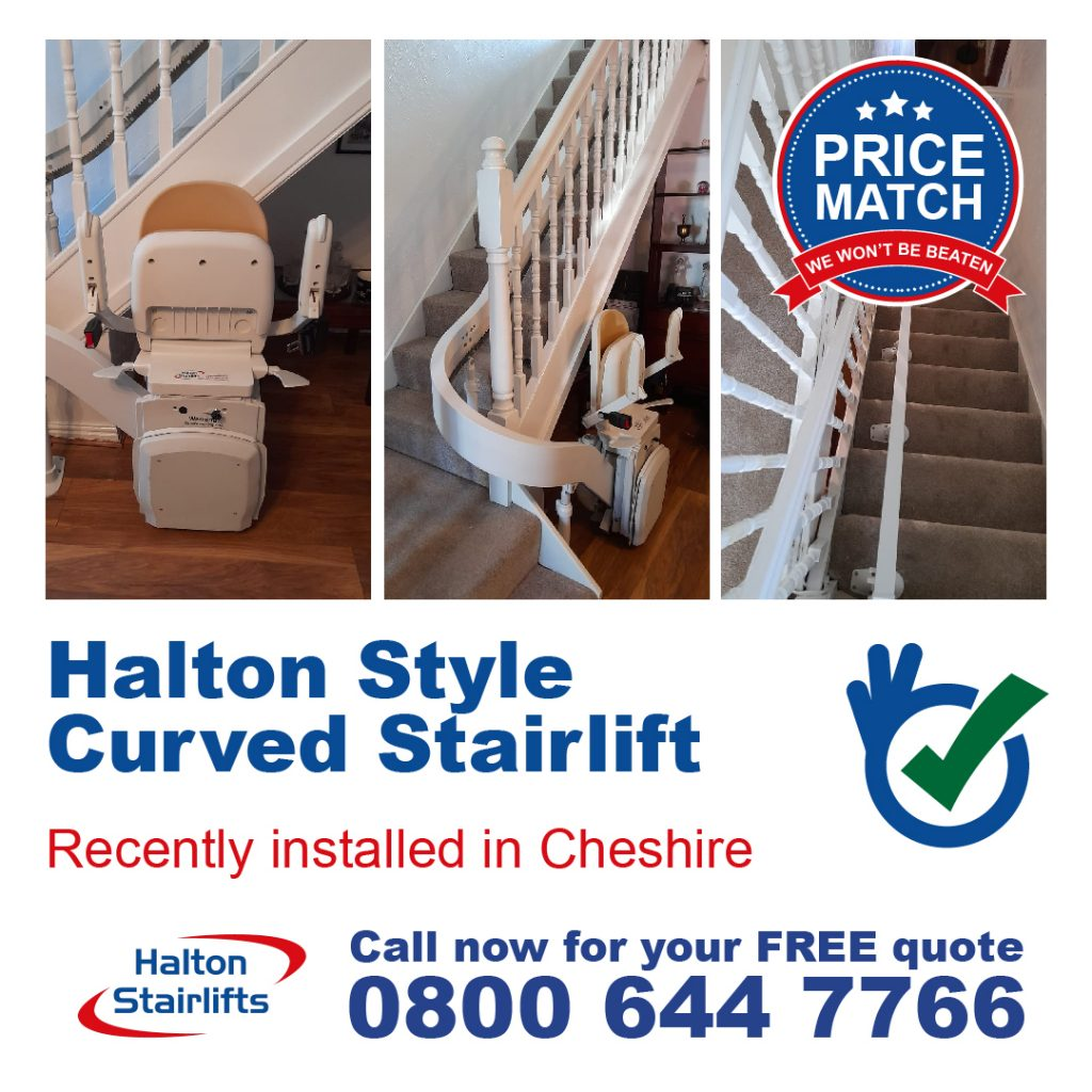 HS Style Curved Stairlift Cheshire v2