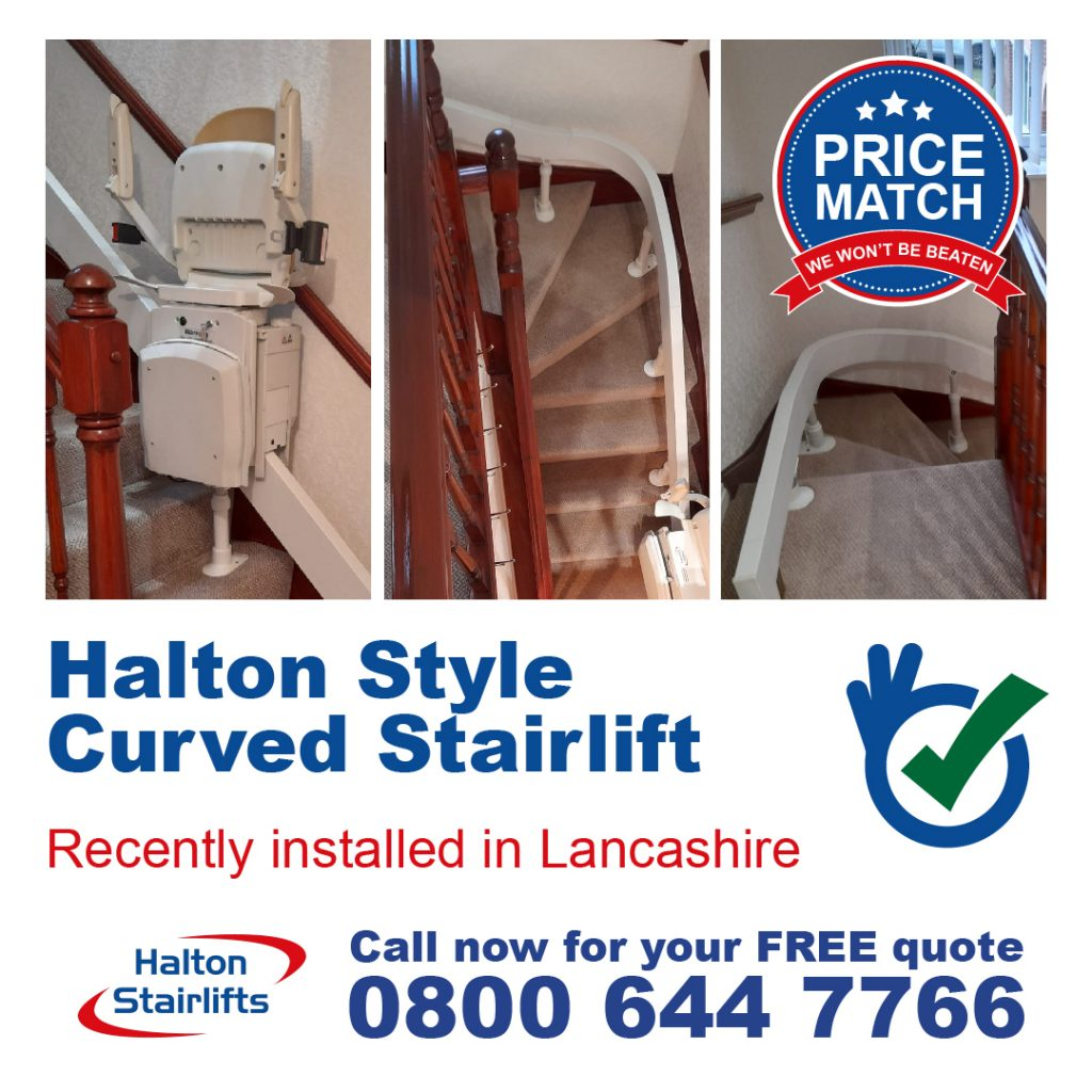 HS Style Curved Stairlift Lancashire v2